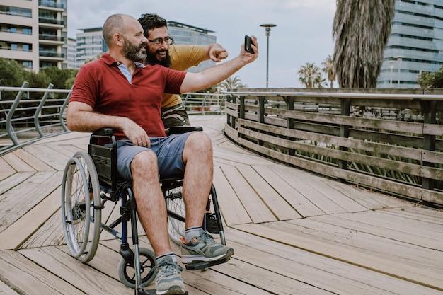 recherche homme handicapé