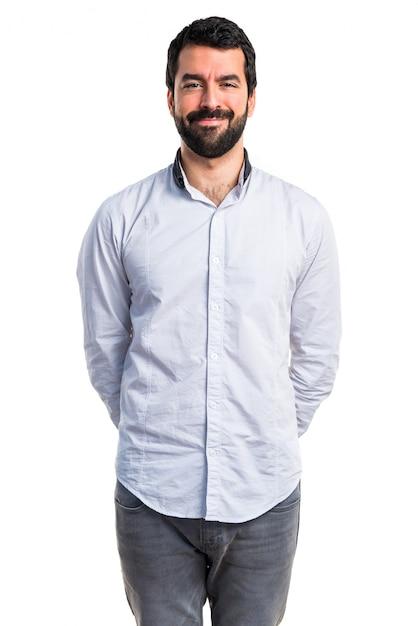 Homme heureux Photo gratuit