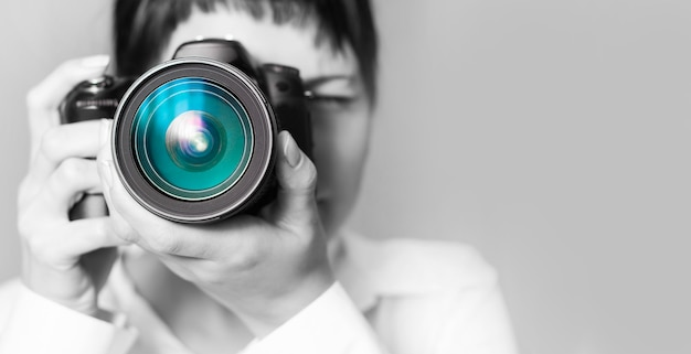 Homme De La Photographie Photo Premium