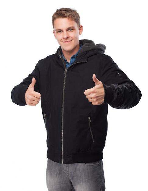 Le Deux Télécharger Shirt Avec Haut Homme Pouces Sweat Vers BqCzaY