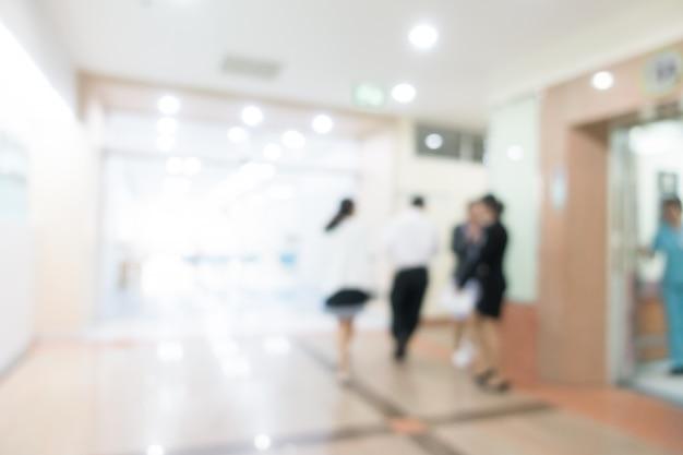 Hôpital flou Photo gratuit