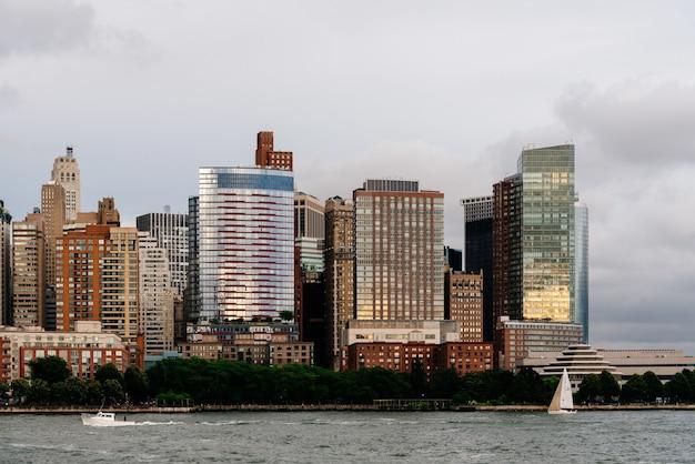 Hudson River, New York City, états-unis Photo gratuit