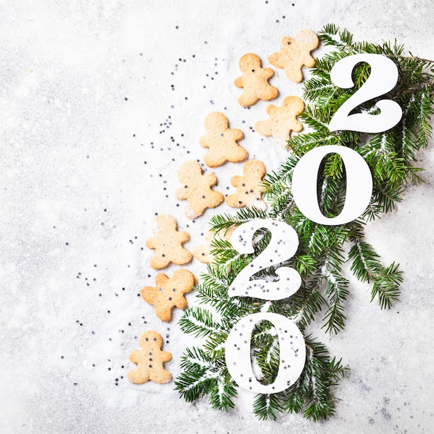 Idée bonne année 2020 Photo Premium