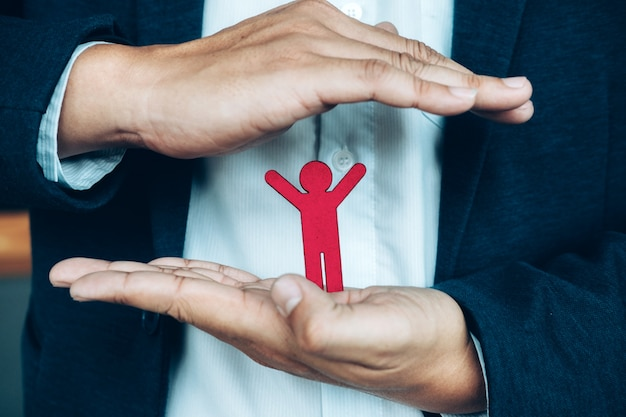 Idée Concept De Politique D'assurance Vie Et Maladie. Finances Et Assurance. Photo gratuit