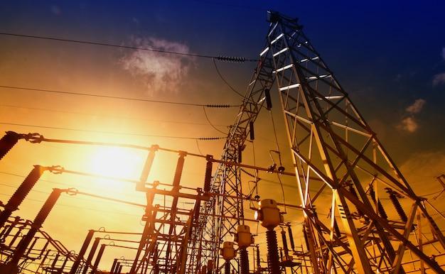 Idées D'énergie Pour Les Centrales électriques Et économies D'énergie Photo Premium