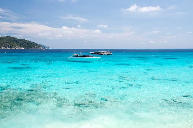 Îles Similan, Mer D'andaman, Thaïlande Photo Premium