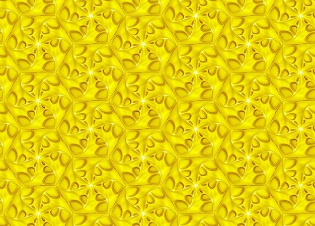 Illustration 3d De Texture Volumétrique Abstraite Photo Premium