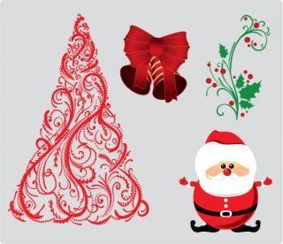 Illustration Vectorielle Noël Photo gratuit