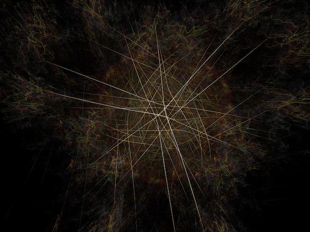 Image De Fond Fractal Imaginatoire Photo Premium