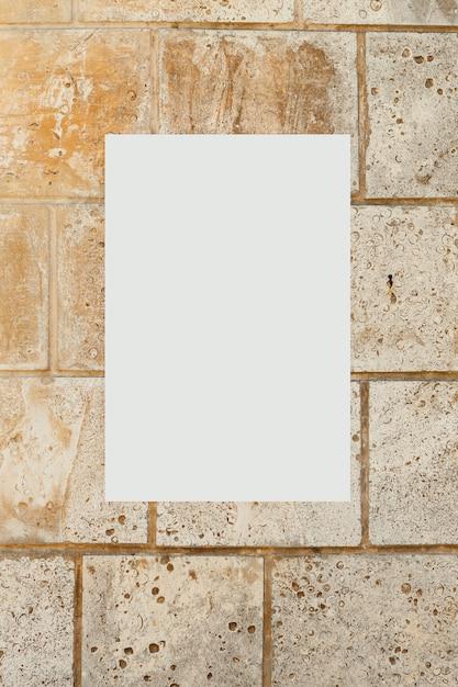 Image Vierge Sur Un Mur De Béton Photo gratuit