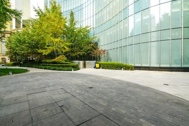 Immeuble De Bureaux Du Centre Financier à Lujiazui, Shanghai, Chine Photo Premium