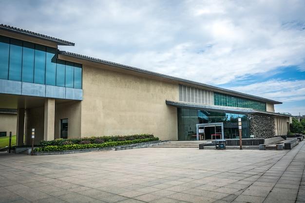 Immeuble de bureaux moderne peintures murales u tableaux façade