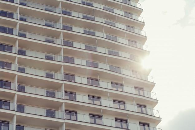 Immeuble moderne Photo Premium