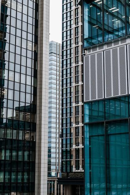 Immeubles De Bureaux Modernes Dans La Ville Photo gratuit
