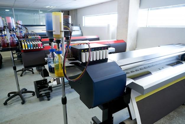 Imprimerie papier de transfert pour industrie textile Photo Premium