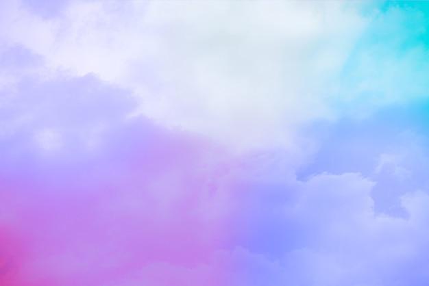 Incroyable Beau Ciel D'art Avec Des Nuages Colorés Photo gratuit