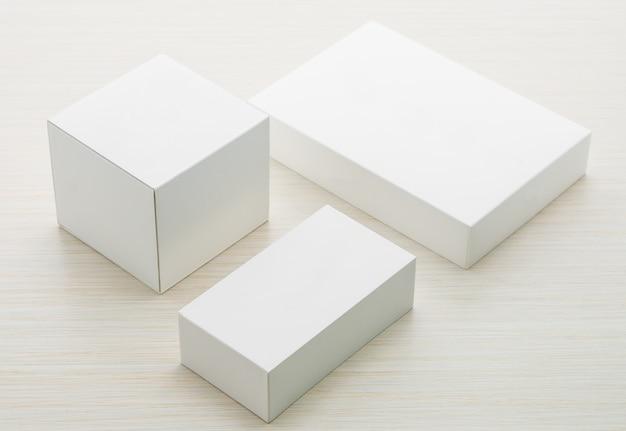 Industrie Objet Abstrait Carton Blanc Photo gratuit