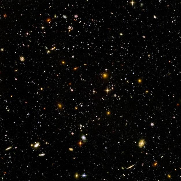 Infinies galaxies de l'univers infini espace Photo gratuit