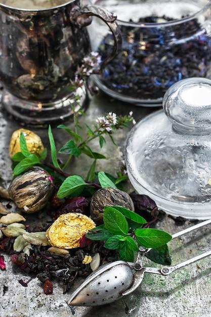 Infusion de thé Photo Premium