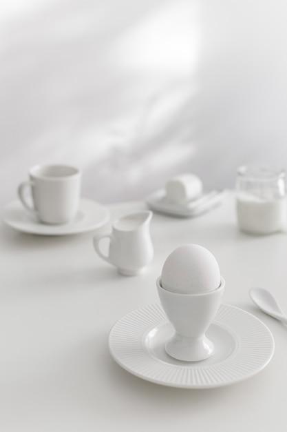 Ingrédients De Boulangerie Blanche Et Table Photo Premium
