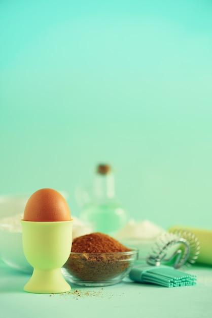 Ingrédients de cuisson Photo Premium