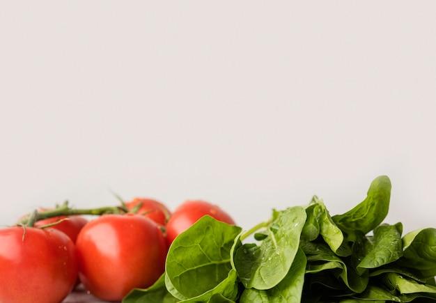 Ingrédients Délicieux Pour Un Espace De Copie De Salade Saine Photo gratuit