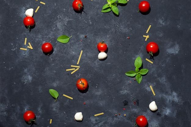 Ingrédients italiens Photo Premium