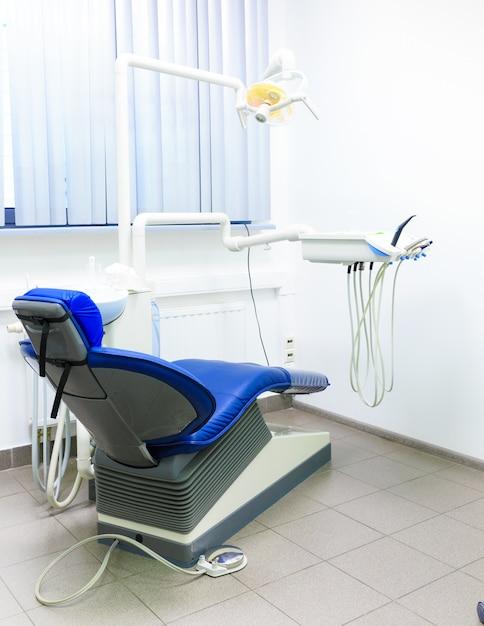 Intérieur D'un Cabinet Dentaire Nouveau Et Moderne Photo Premium