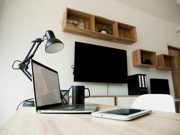 L'intérieur du bureau moderne Photo Premium