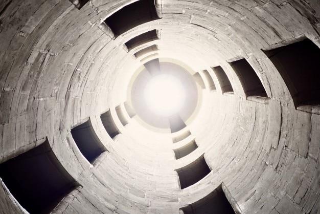 À l'intérieur du cylindre Photo gratuit