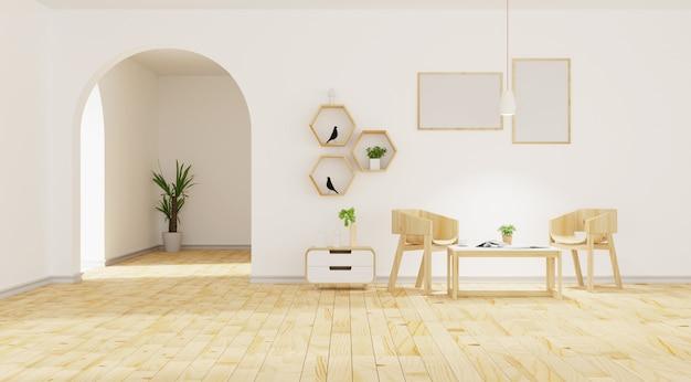Intérieur Du Salon Moderne Photo Premium