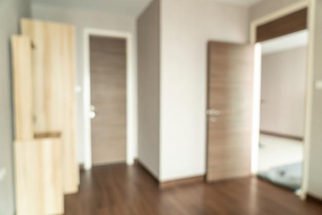 Intérieur flou abstrait intérieur pour Photo Premium