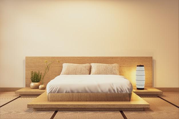 Intérieur De Luxe Chambre De Style Japonais Moderne Photo Premium