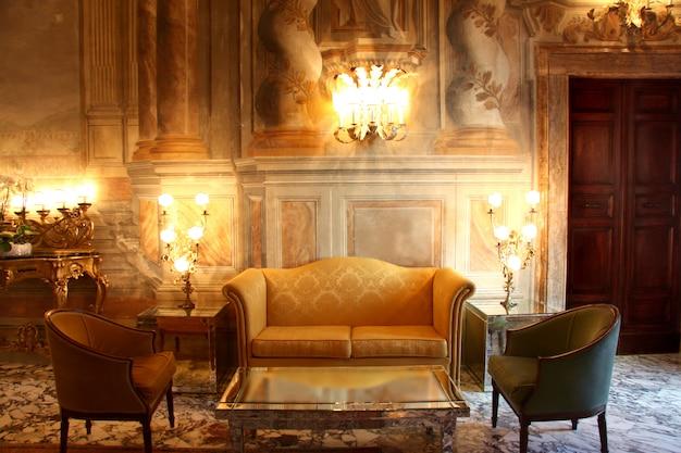 Intérieur de luxe Photo Premium