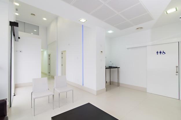 Intérieur moderne de la clinique dentaire Photo Premium