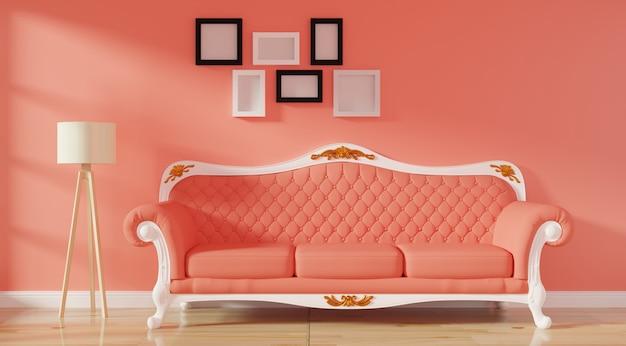 Intérieur moderne de luxe du salon Photo Premium