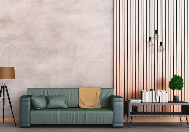 Intérieur moderne salon Photo Premium