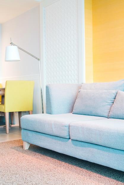 Intérieur de salon de décoration Photo gratuit