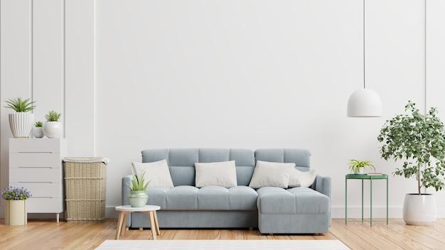 Intérieur De Salon Moderne Lumineux Et Confortable Photo Premium