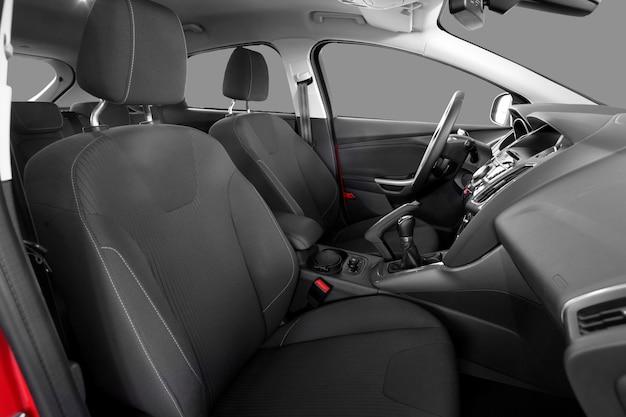 Intérieur d'une voiture moderne Photo Premium