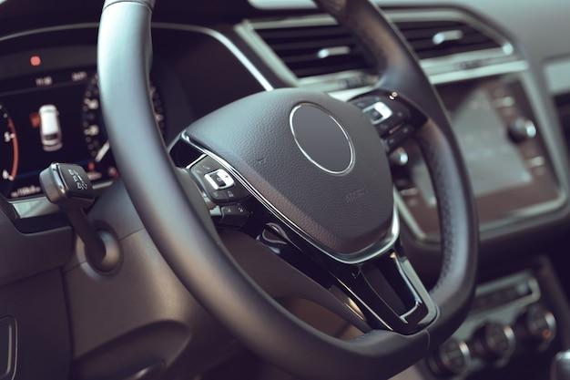 Interior design new auto Photo Premium