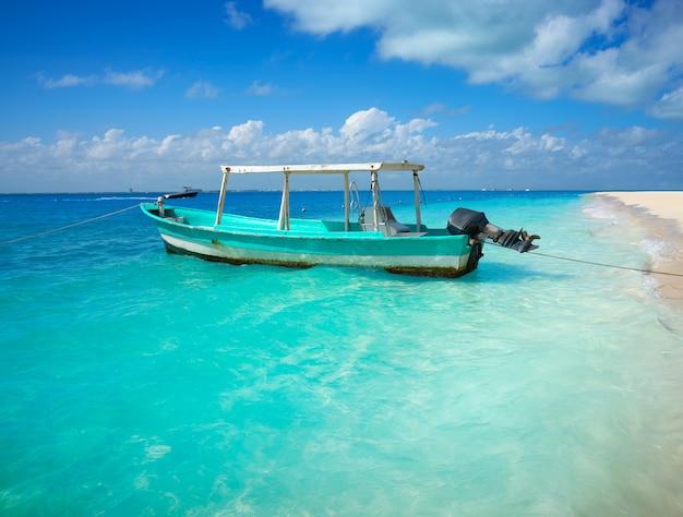 Isla mujeres, île, caraïbes, plage Photo Premium