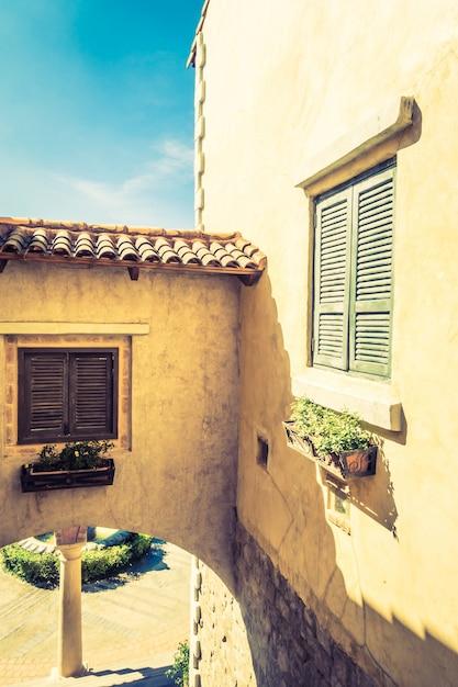 Italie venise cru café architecture Photo gratuit