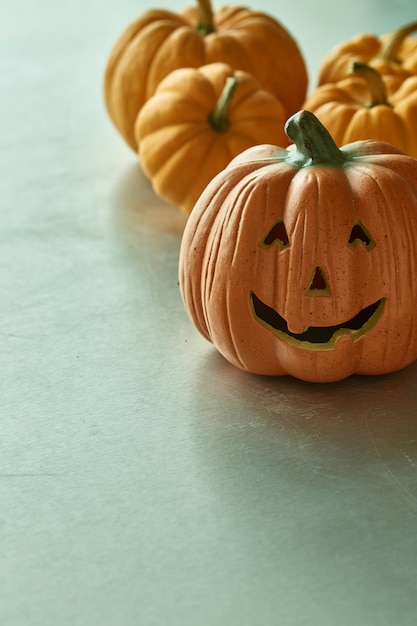 Jack o lantern halloween citrouilles Photo Premium