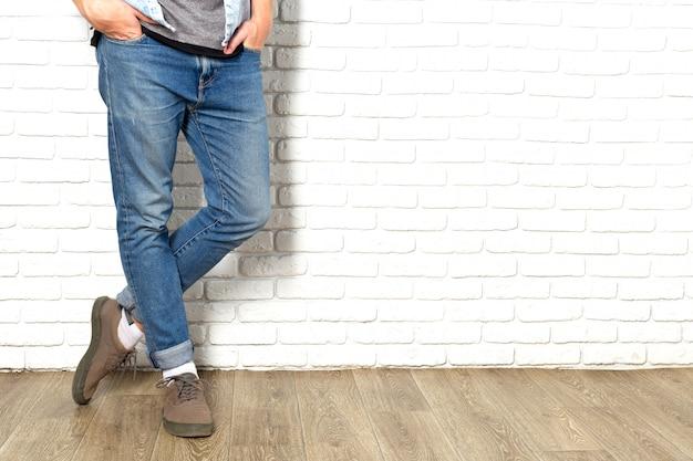 Jambes de l'homme Photo Premium