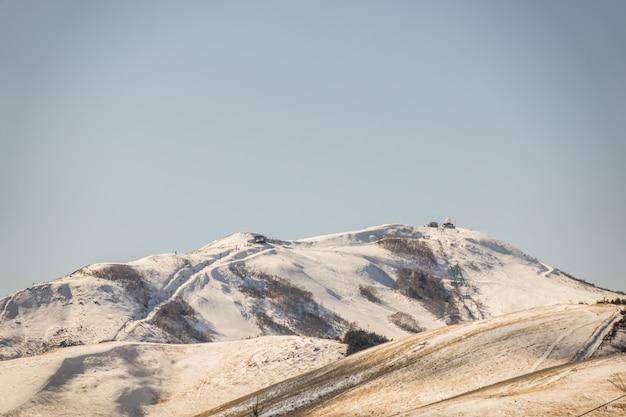 Japon winter mountain (filtré effet vintage d'image traitée Photo gratuit