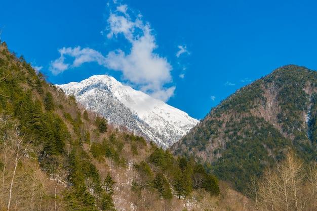 Japon winter mountain Photo gratuit