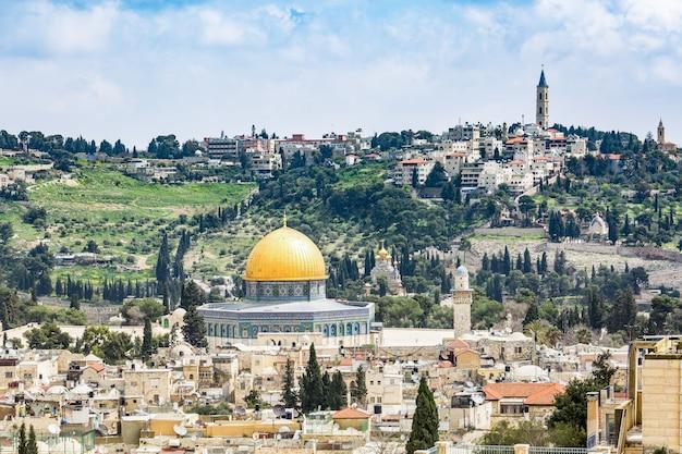 Jérusalem Ville Sainte Photo Premium
