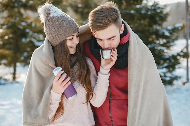 Jeune couple Photo gratuit