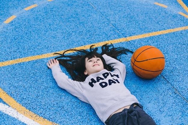 basket jeune fille
